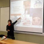 2010 - Yerevan, Armenia, public lecture at the American University of Armenia